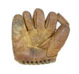 Vintage 1940s Eddie Miller #735 Baseball Glove by OK Mfg Co. Ida Ohio. Righ