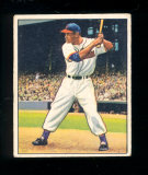 1950 Bowman Baseball Card #39 Hall of Famer Larry Doby Cleveland Indians.