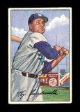 1952 Bowman Baseball Card #44 Hall of Famer Roy Campanella Brooklyn Dodgers