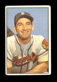 1953 Bowman (Color) Baseball Card #5 Sid Gordon Boston Braves.  G-VG Condit