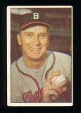 1953 Bowman (Color) Baseball Card #37 Jim Wilson Boston Braves.  G-VG Condi
