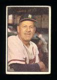 1953 Bowman (Color) Baseball Card #69 Manager Charlie Grimm Milwaukee Brave