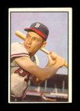 1953 Bowman (Color) Baseball Card #83 Jack Daniels Milwaukee Braves.  VG Co
