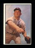 1953 Bowman (Color) Baseball Card #156 Max Surkont Milwaukee Braves.  VG/EX