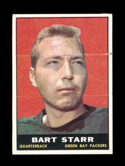 1961 Topps Football Card #40 Hall of Famer Paul Hornung Green Bay Packers.