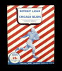 1942 Detroit Lions Vs Chicago Bears Football Game Program November 22nd, 19