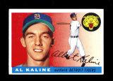1955 Topps  Baseball Card #4 Hall Of Famer Al Kaline Detroit Tigers.  VG-EX