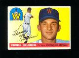 1955 Topps  ROOKIE Baseball Card #124 Rookie Hall Of Famer Harmon Killebrew