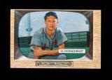 1955 Bowman Baseball Card #29 Hall of Famer Red Schoendienst St Louis Cardi