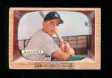 1955 Bowman Baseball Card #60 Hall of Famer Enos Slaughter New York Yankees