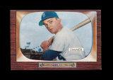 1955 Bowman ROOKIE Baseball Card #65 Rookie Don Zimmer Brooklyn Dodgers.  E