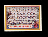 1957 Topps Baseball Card #275 Cleveland Indians Team. EX-MT to NM Condition