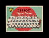 1959 Topps Baseball Card #329 CheckList/Detroit Tigers Team. EX to EX-MT Co