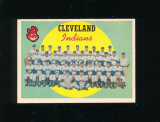 1959 Topps Baseball Card #476 CheckList/Cleveland Indians Team. EX-MT to NM
