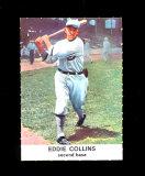 1961 Golden Press Baseball Card #28 Hall of Famer Eddie Collins Philadelphi