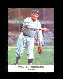 1961 Golden Press Baseball Card #29 Hall of Famer Walter