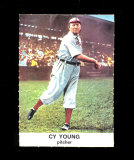 1961 Golden Press Baseball Card #33 Hall of Famer Cy Young Cleveland, St Lo