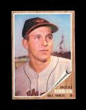 1962 Topps Baseball Card #45 Hall of Famer Brooks Robinson Baltimore Oriole