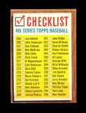 1962 Topps Baseball Card #277 CheckList EX-MT to NM Condition.