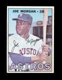 1967 Topps Baseball Card #337 Hall of Famer Joe Morgan Houston Astros. EX-M
