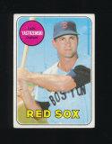 1969 Topps Baseball Card #130 Hall of Famer Carl Yastrzemski Boston Red Sox