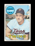 1969 Topps Baseball Card #375 Hall Of Famer Harmon Killebrew Minnesota Twin