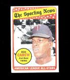 1969 Topps Baseball Card #419 Hall of Famer Amercan League All-Stars Rod Ca