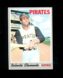 1970 Topps Baseball Card #350 Hall of Famer Roberto Clemente Pittsburgh Pir