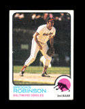 1973 Topps Baseball Card #90 Hall of Famer Books Robinson Baltimore Orioles