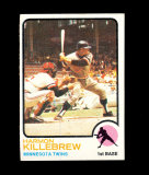 1973 Topps Baseball Card #170 Hall of Famer Harmon Killebrew Minnesota Twin