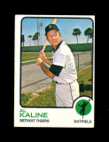 1973 Topps Baseball Card #280 Hall of Famer Al Kaline Detrot Tigers. EX to