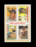 1974 Topps Baseball Card #2 Hank Aaron Special. EX-MT to NM Condition.