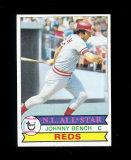 1979 Topps All-Star Baseball Card #200 Hall of Famer Johnny Bench Cincinnat