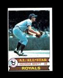 1979 Topps Baseball Card #330 Hall of Famer George Brett Kansas City Royals