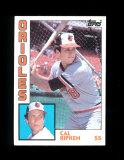 1984 Topps ROOKIE Baseball Card #490 Rookie Hall of Famer Cal Ripken Jr Bal