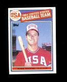 1985 Topps ROOKIE Baseball Card # Rookie Mark McGwire United States Basebal