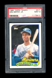 1989 Topps ROOKIE Traded Baseball Card #41T Rookie Hall of Famer Ken Griffe