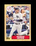 2011 Topps Baseball Card #TM-16 Derek Jeter New York Yankees.