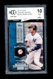 2013 Topps Baseball Card #CH-37 Derek Jeter New York Yankees Chasing Histor