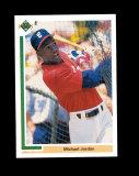 1990 Upper Deck Baseball Card #SP1 Micheal Jordan Chicago White Sox