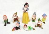 1950s Walt Disneys Snow White and The Seven Dwarfs Porcelain Figures Set.