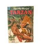1954 #57 Dell Comics Tarzan Comic Book Creases On Cover Very Good to Fine C