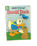 1958 #59 Dell Comics Walt Disney's Donald Duck Comic Book.  Very Good to Fi