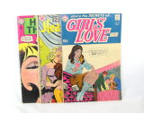 (3) 1960's DC Comics VG-Fine Conditions Girls Love Stories Number 145, Hear