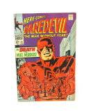 1968 #41 Marvel Comic Group Here Comes Daredevil Featuring The Death Of Mik