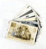 (16) Vintage Post Cards Featuring Real Photos From Around Wisconsin.