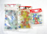 (3) Older Bags Of Marbles 1 Marble King Rainbows, 1 Older Vitro Cateyes, 1