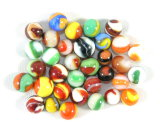 (33) Akro Agate Corkscrew Marbles.