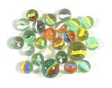 (25) Better Grade Cateye Marbles