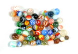 (55) Mixed Interesting Miscellaneous Machine Marbles.